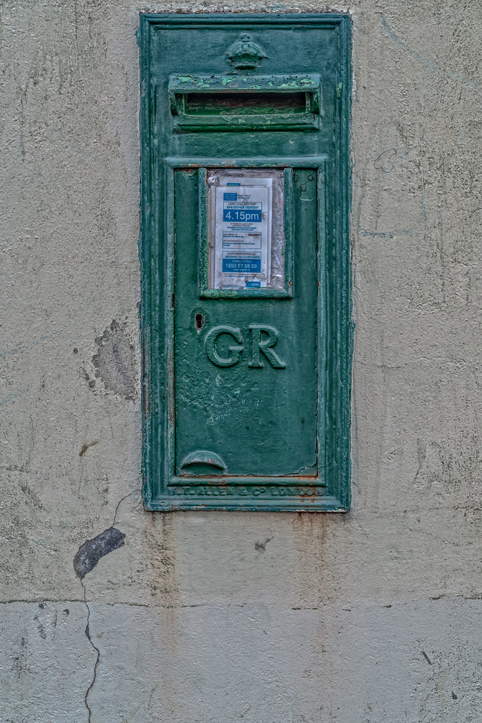 OLD BRITISH LETTER BOX IN CORK