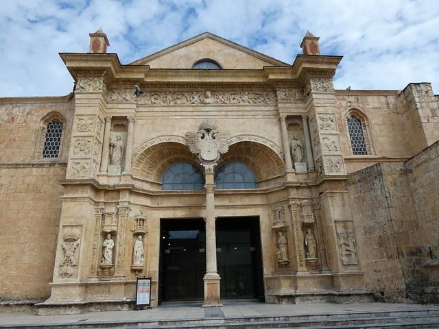 Fachada de la Catedral de Santo Domingo (República Dominicana)