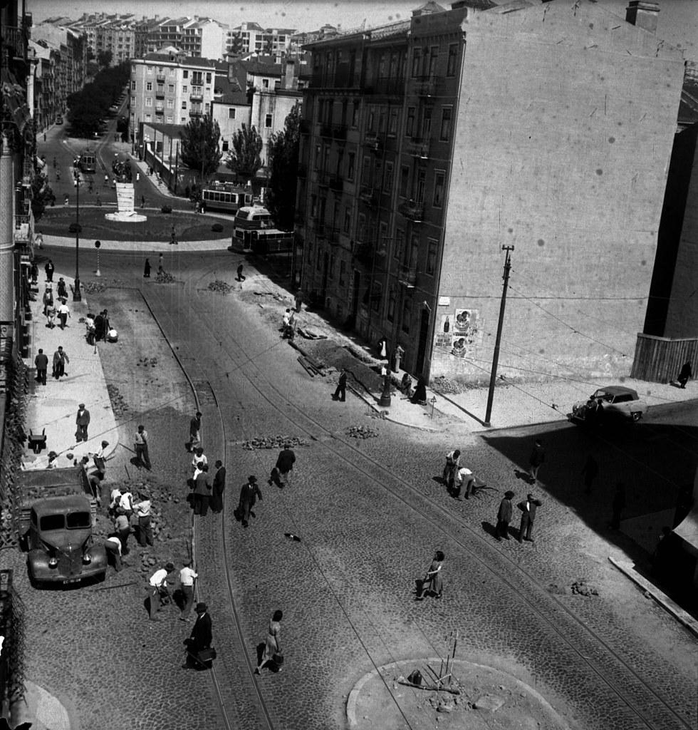 Rua Moraes Soares, Lisboa (J. Benoliel, 195...)