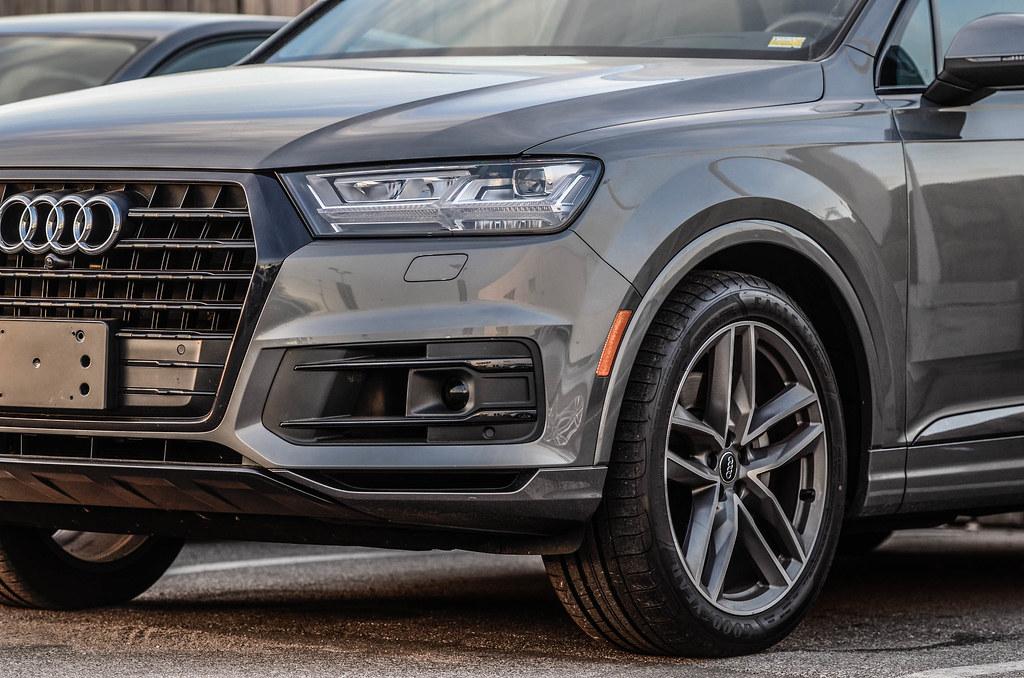 Samurai Grey Audi Q7 with Black Optics | Kansas City Audi | Armen Budagov | Flickr