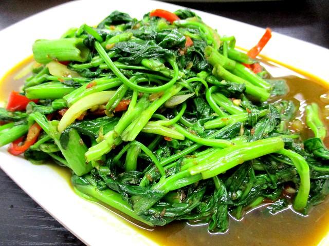 My Chef Restaurant kangkong belacan