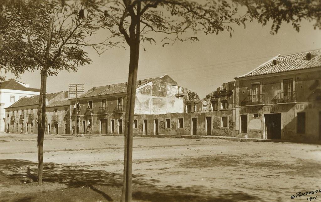 Campo Grande, lado oriental, Lisboa (E.Portugal,1941)