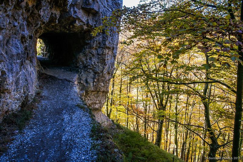Boca norte del túnel de Akarreta