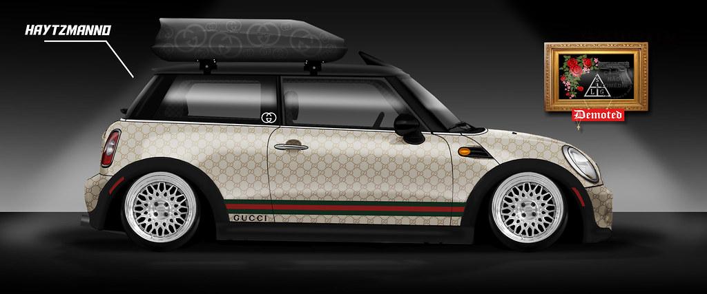 Mini Cooper Forum >> MINI COOPER x GUCCI PLOTTING STANCED CAR x GUCCI GANG | Flickr