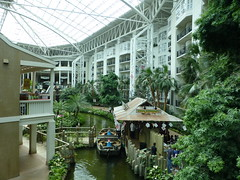 Boat Tours in Opryland Hotel