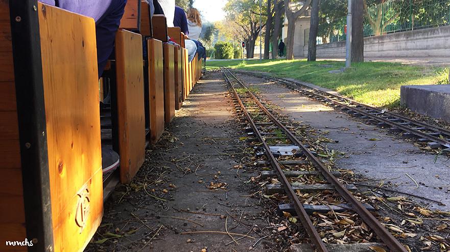tren locomotora La Granja Burjassot