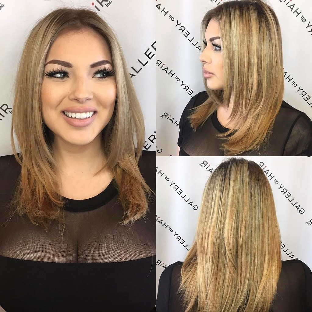 Razor Cut Layered Blowout with Face Framing Layers and Blo…   Flickr