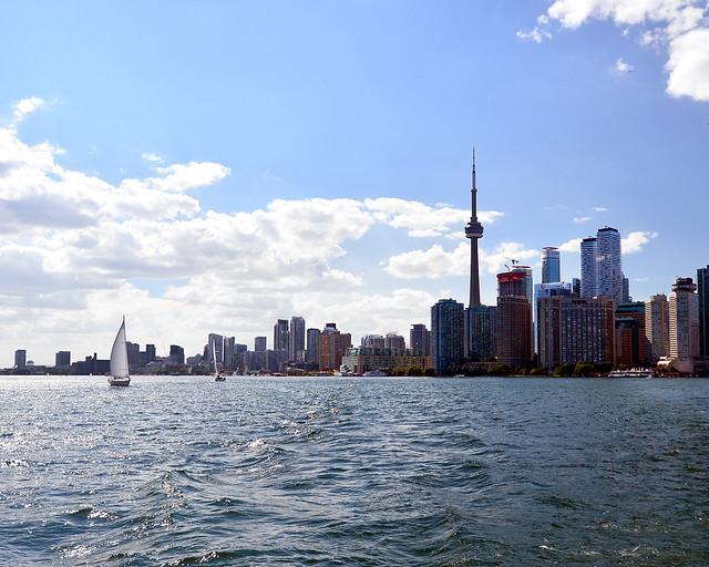 Skyline de Toronto desde el agua