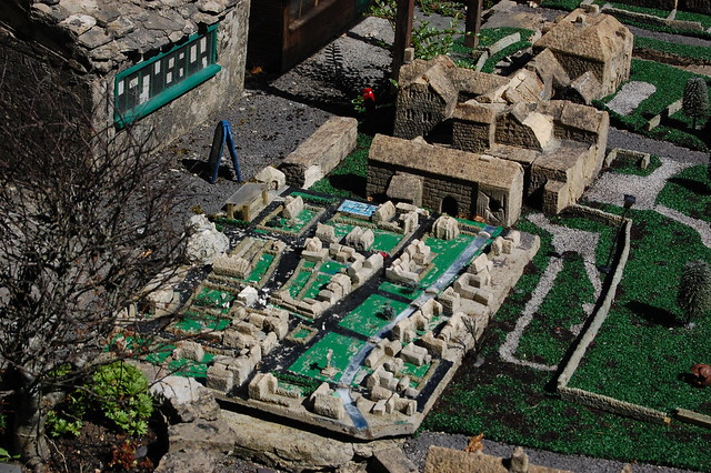 Miniature villages within the miniature village