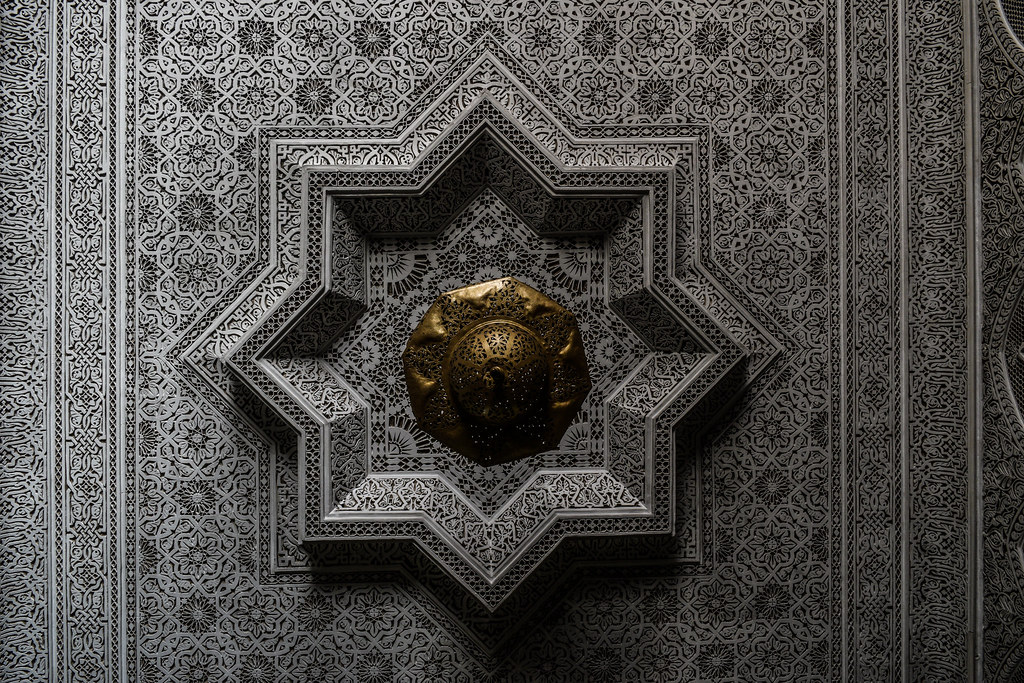 Ceiling Designs Arabesque Woodwork Designs Radiate Out Fro Flickr