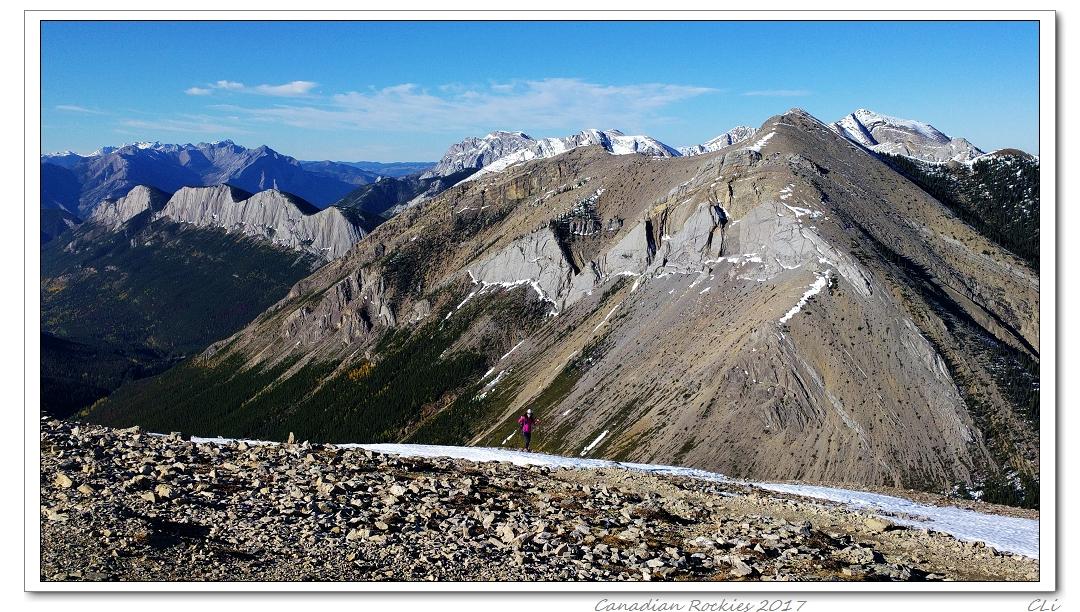 加拿大落基山三周秋遊(2)--無限風光在險峰