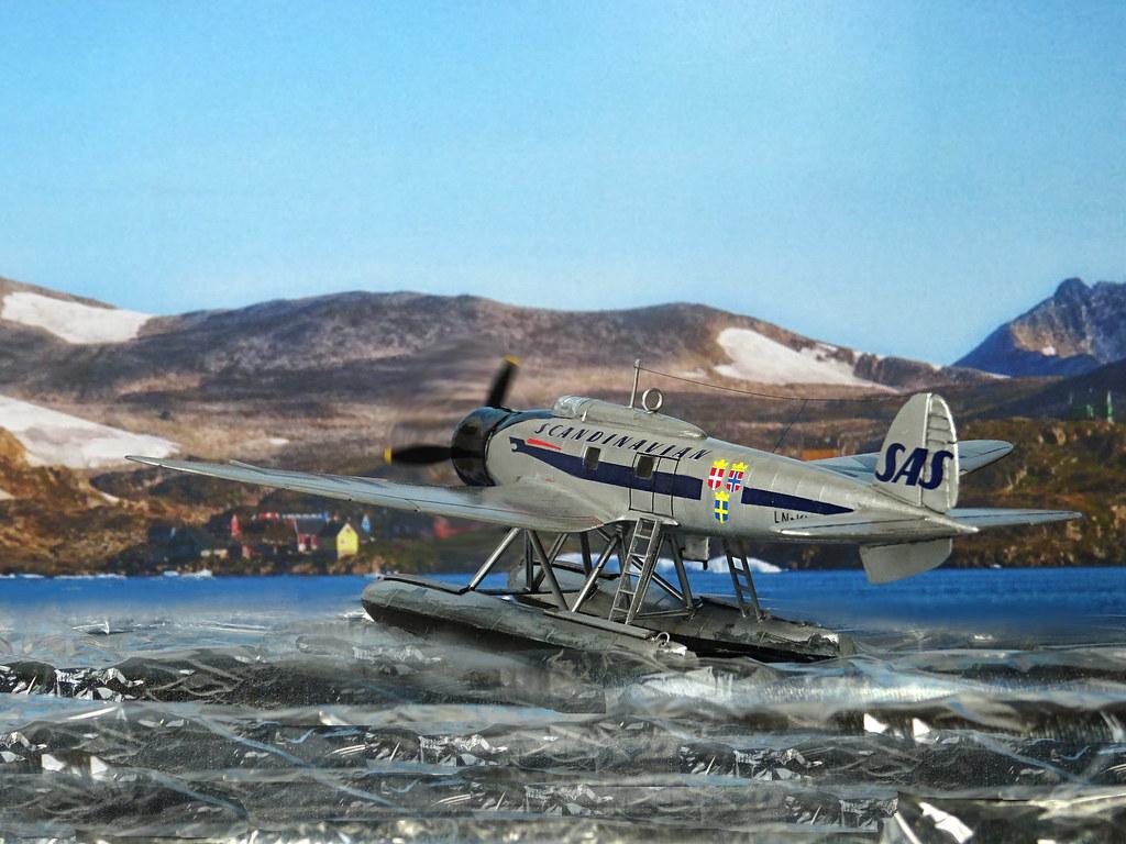 172 Heinkel He 70K floatplane u0027LN KMEu0027