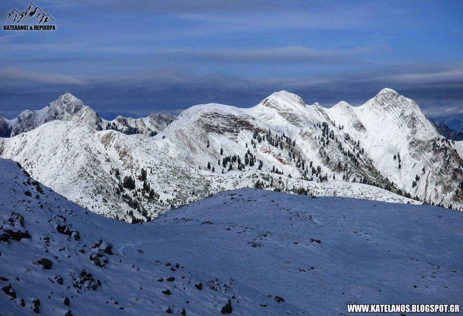 χειμωνας στο παναιτωλικο ορος χιονια