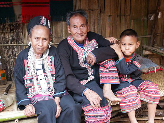 Lahu Hill Tribes