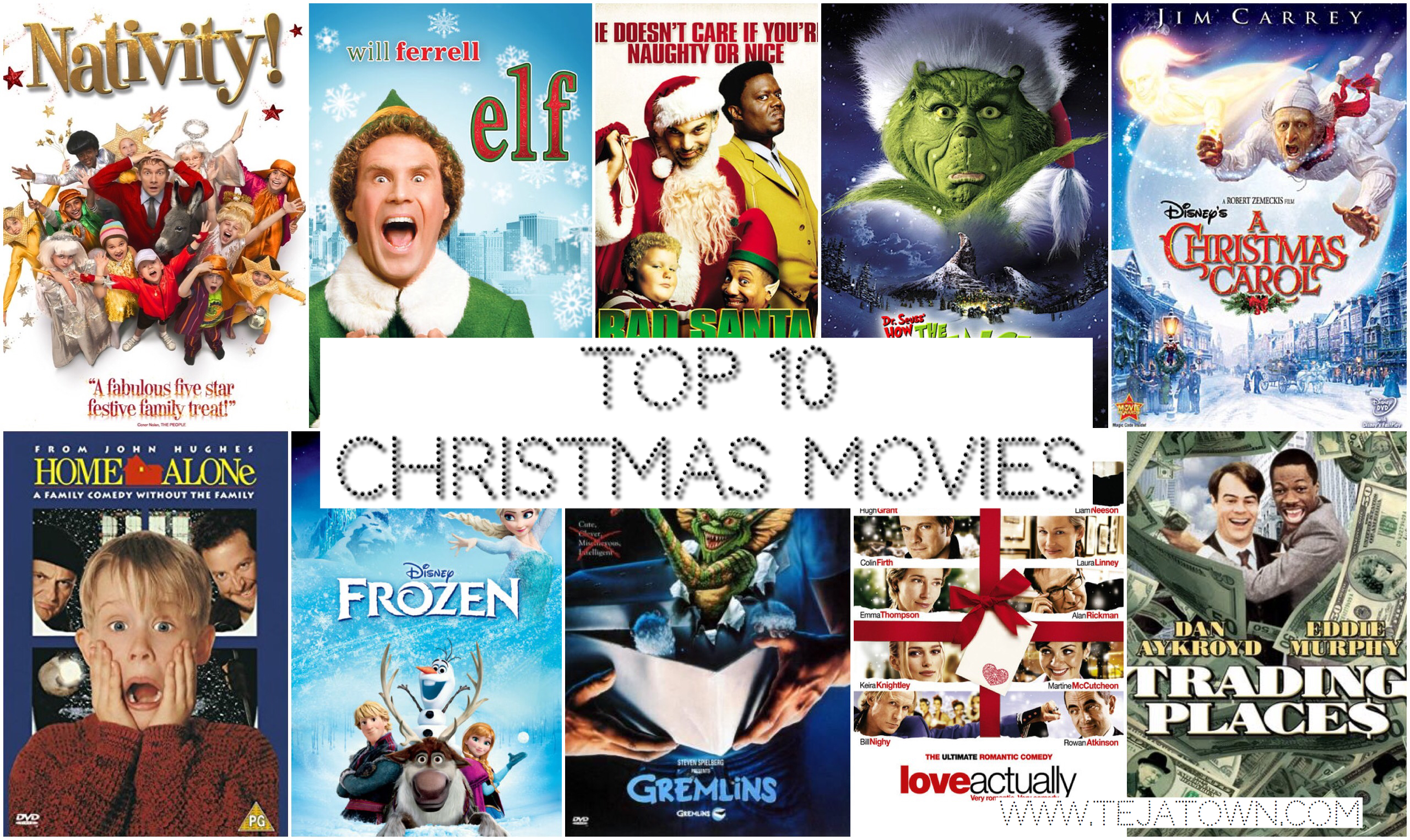 its that time of year lovelies its officially acceptable to whack out the christmas films ive made a list of my all time favourites a list of ten - List Of Christmas Films