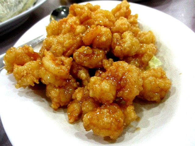 Nice House honey prawn balls