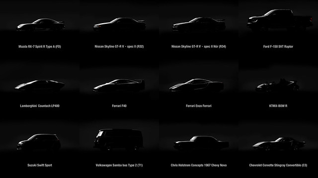 Gran Turismo Sport - Les 12 nouvelles Voitures du Patch 1.07