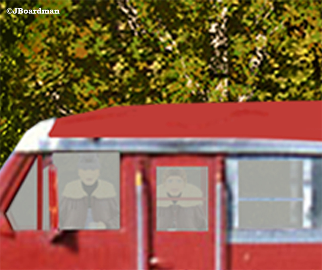 Linda in the Locomotive ©JBoardman