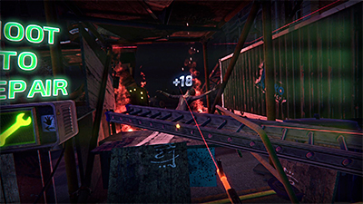 Zombie Survival is an intense, undead themed 15-minute VR shooter, in which players are caught in a zombie outbreak and need to destroy the undead hordes while they wait for help to arrive. Photo: Zero Latency Singapore.