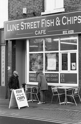 Lune Street Fish and Chips Preston | by Man with Red Eyes