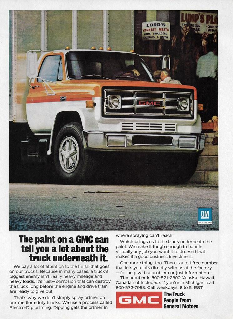 1974 gmc medium duty truck usa michael flickr