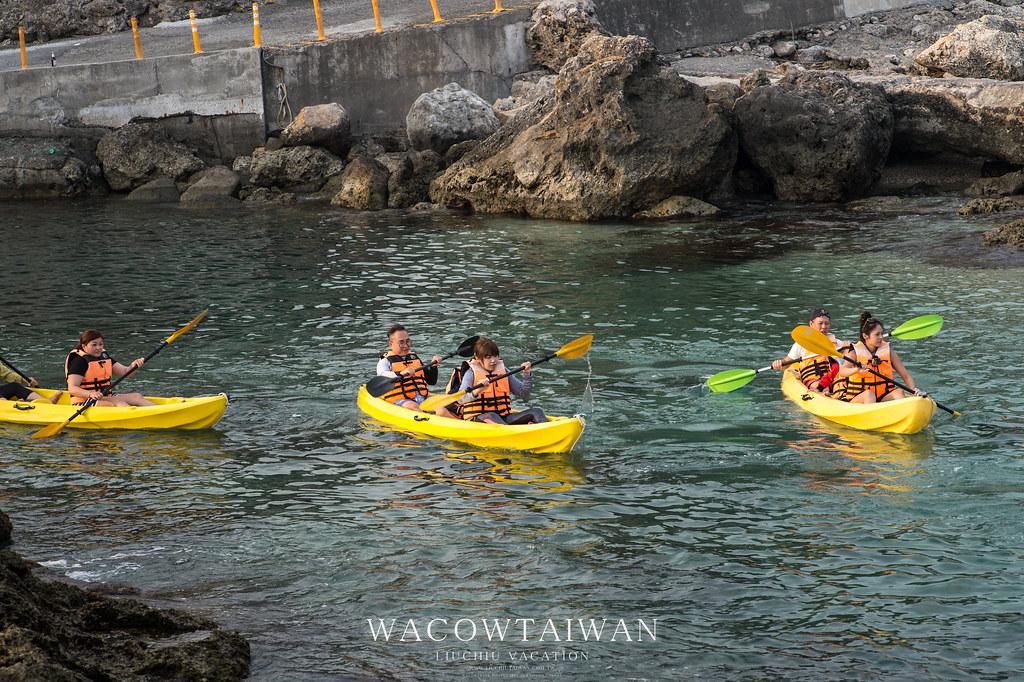獨木舟體驗-哇靠小琉球-小琉球旅遊推薦