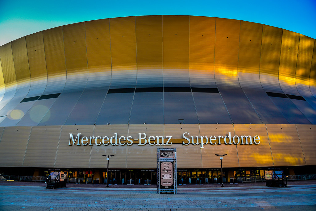 ... Mercedes Benz Superdome New Orleans LA | By Mbell1975