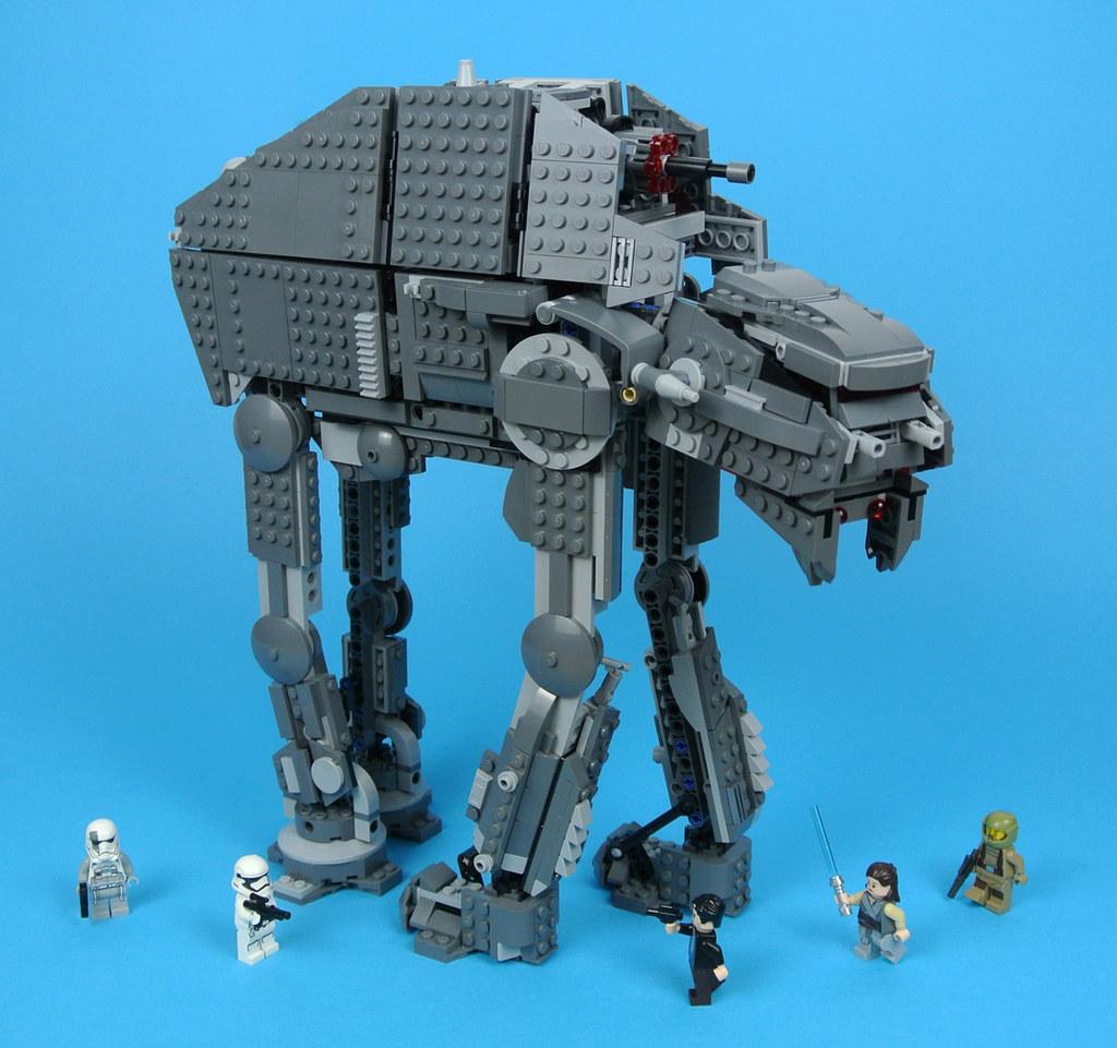 Review 75189 First Order Heavy Assault Walker Brickset Lego Set