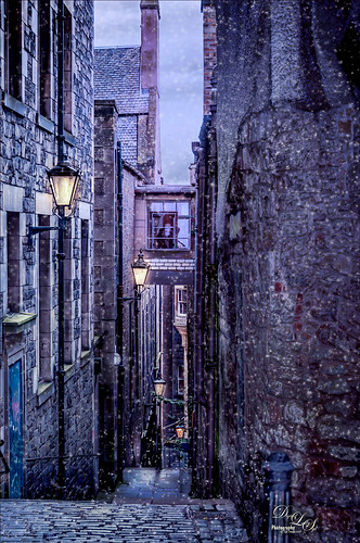 Image of Anchor Close in Edinburgh, Scotland