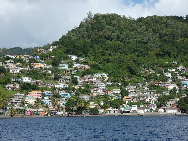 Isla de San Vicente (Islas del Caribe en crucero)