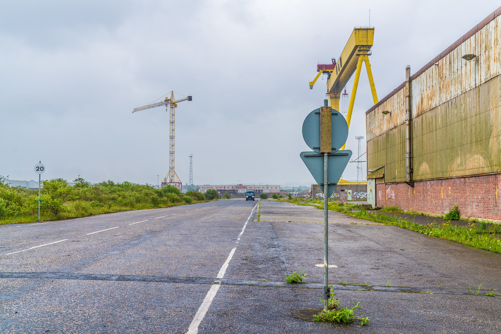 VIEW OF THE FAMOUS CRANES [SAMSON AND GOLIATH IN BELFAST] 005