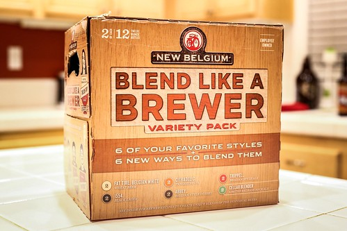 New Belgium Brewing Company - Blend Like a Brewer | by fourbrewers