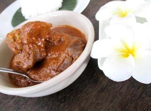 Payung Cafe lamb masala