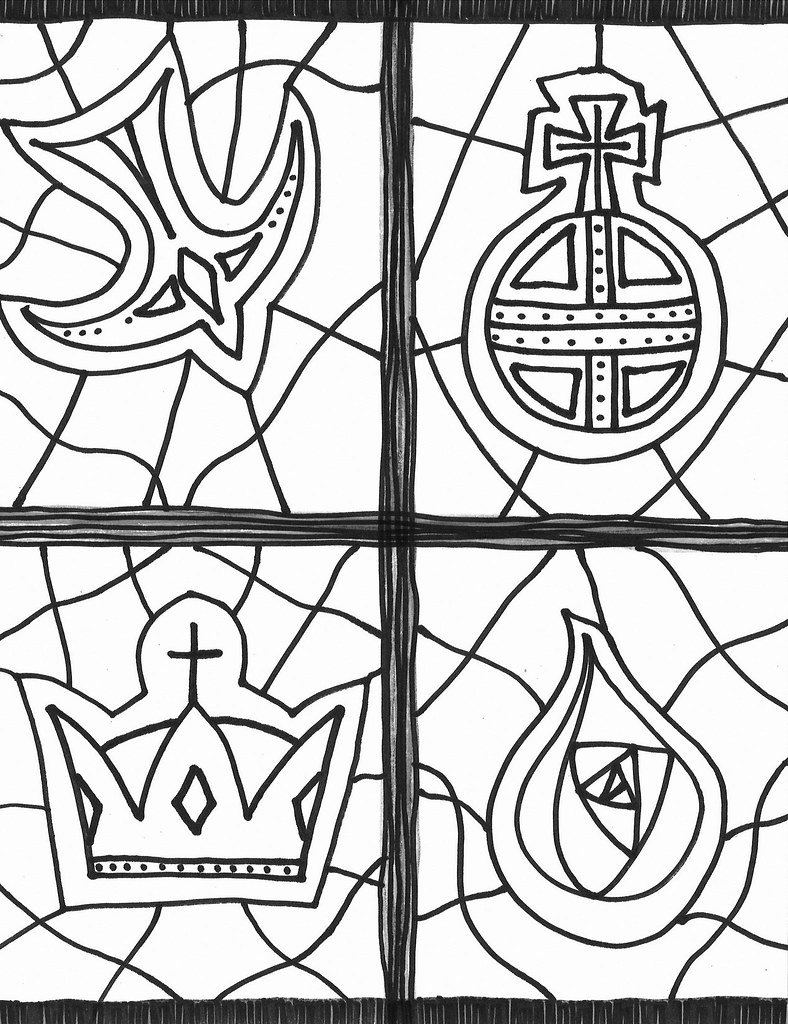 Christ Is King Coloring Page Christ Is King Coloring Sheet Flickr - Christ-the-king-coloring-page
