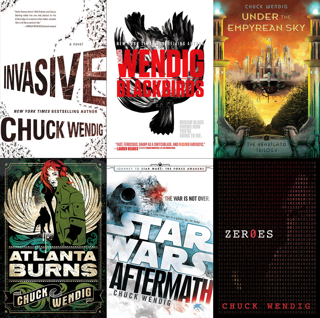 Where To Begin With The Novels Of Me, Chuck Wendig?
