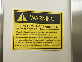 Sign in St. Paul's Hospital bathroon | by Beth77