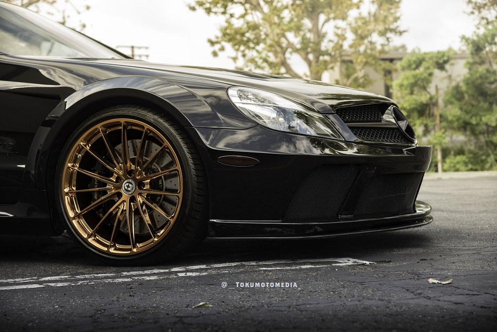 hre wheels mercedes benz sl black series  hre p wheels  polished copper mbworld