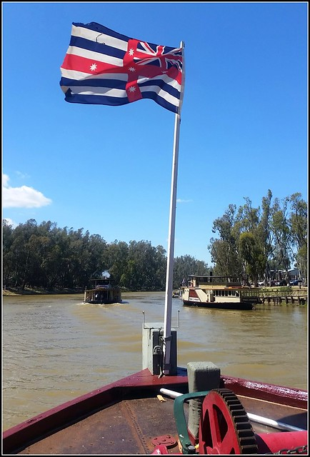 Apparently that's the 'Murray River Flag'