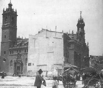 Iglesia de los Santos Juanes en Valencia.