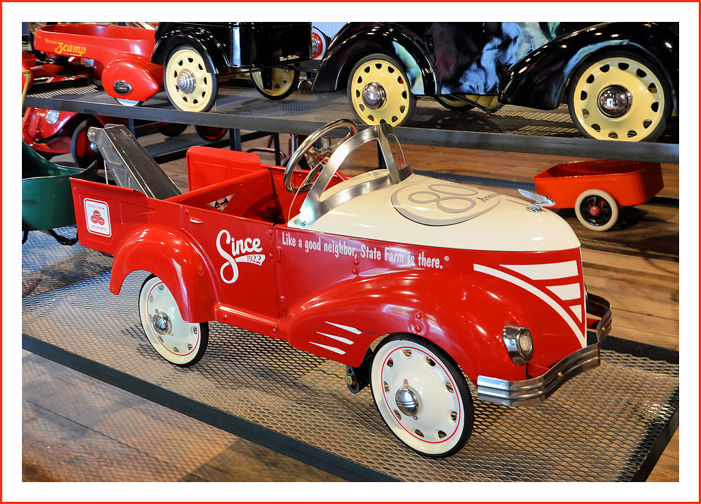 2002 state farm insurance anniversary pedal car visit to t flickr. Black Bedroom Furniture Sets. Home Design Ideas