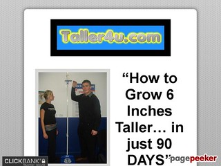 how to grow 9 inches taller fast