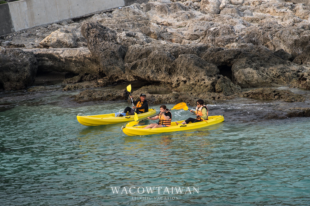 小琉球民宿推薦獨木舟行程都在哇靠小琉球民宿網