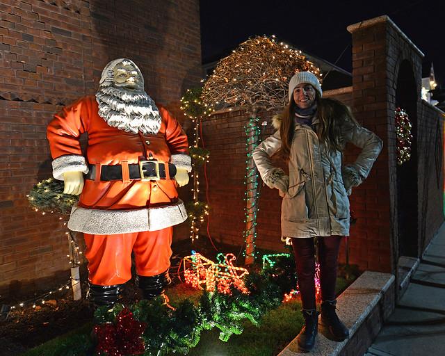 Santa Claus en Dyker Heights