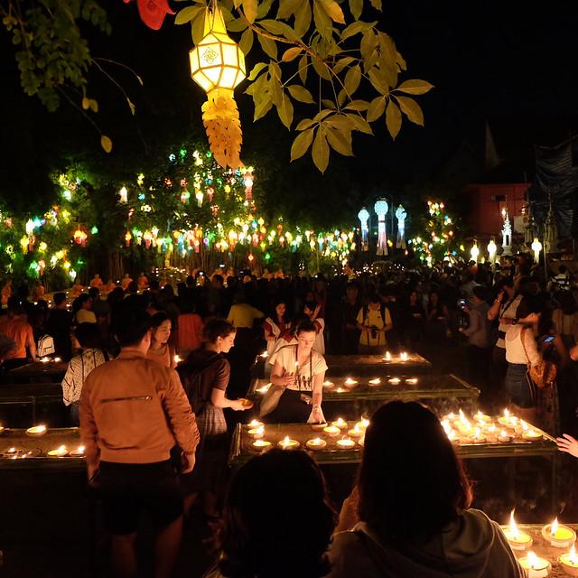 Loy Krathong & Yee Peng Festival Lights
