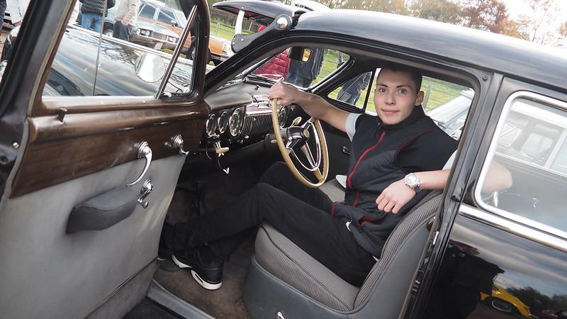 Cadillac Fleetwood Limousine 1947 - Saulx (91) Novembre 2017 37633879405_a91864b843_c