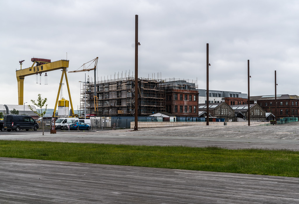VIEW OF THE FAMOUS CRANES [SAMSON AND GOLIATH IN BELFAST] 002
