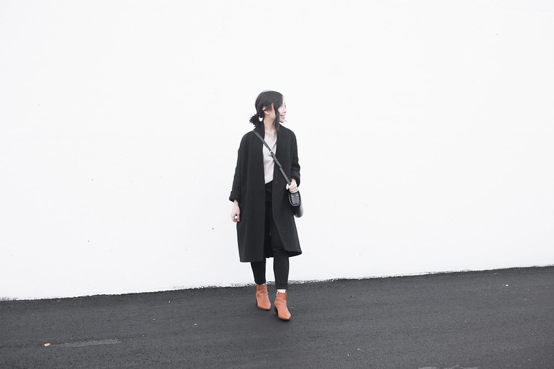 minimal winter outfit