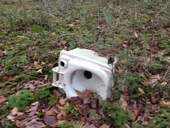 Abandoned Camp Toilet