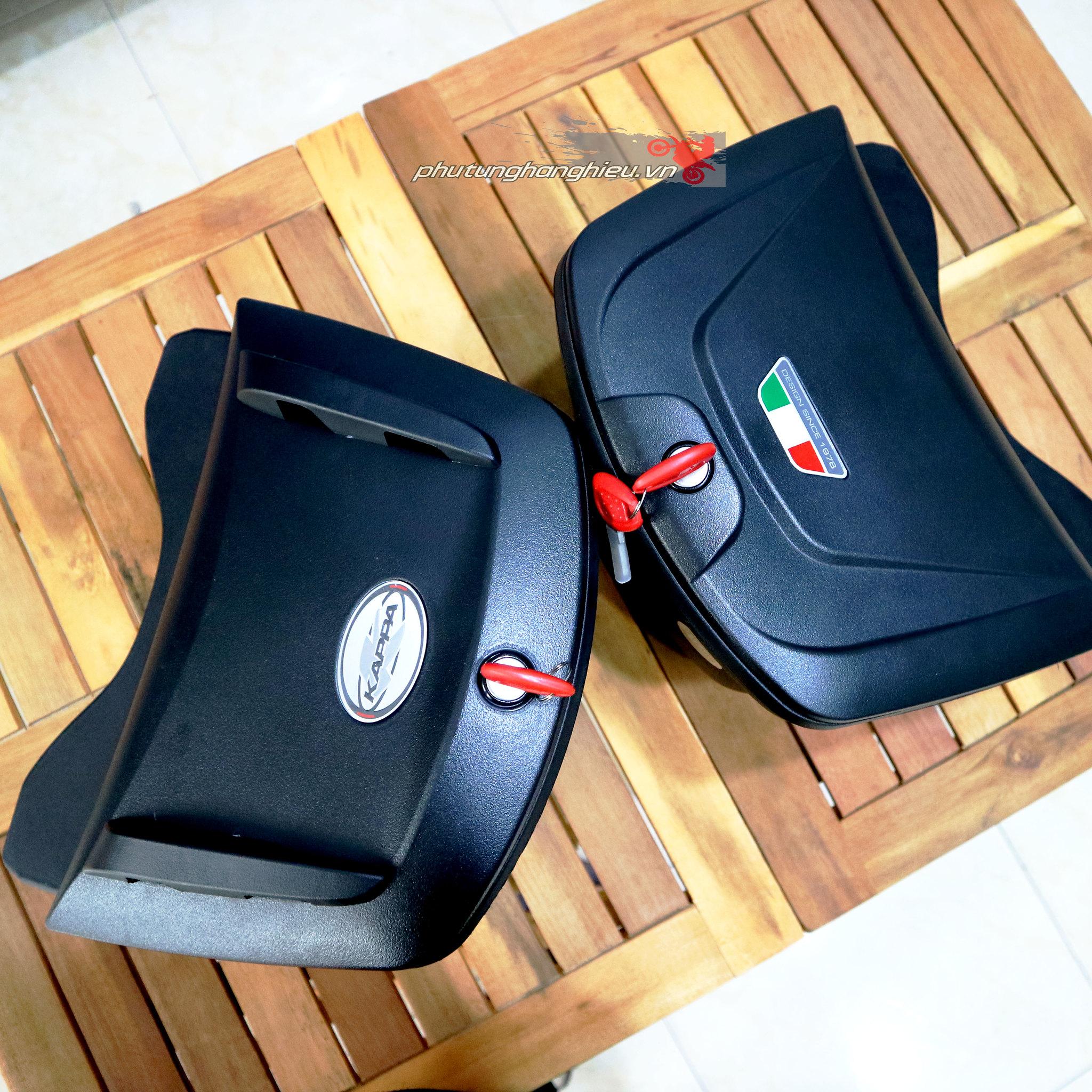 Thùng giữa Givi K10N và Givi G10N, thùng giữa cho xe máy, thùng giữa GiVi, phutunghanghieu.vn