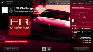 Gran Turismo Sport - GT League - Défi FR